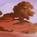 Красный пейзаж